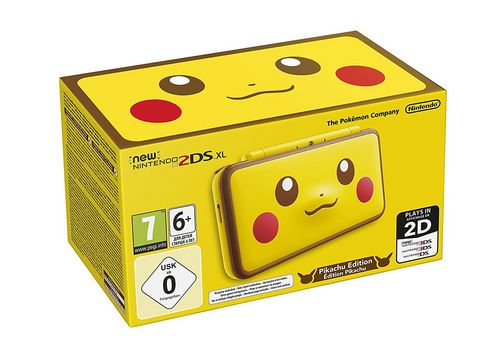 New 2DS XL Console - Pikachu Edition [New 2DS XL]