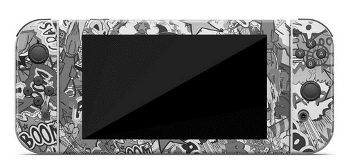 Skin Switch - Stickerbomb Black/White - 3M [NSW]