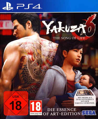 Yakuza 6: The Song of Life - Essence of Art Edition [PS4]