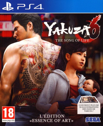 Yakuza 6: The Song of Life - L'Édition Essence of Art [PS4]