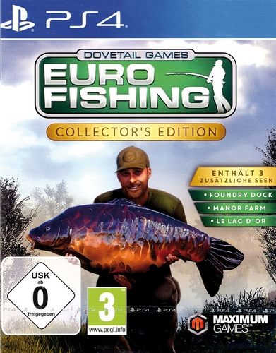 Euro Fishing Collector's Edition [PS4]