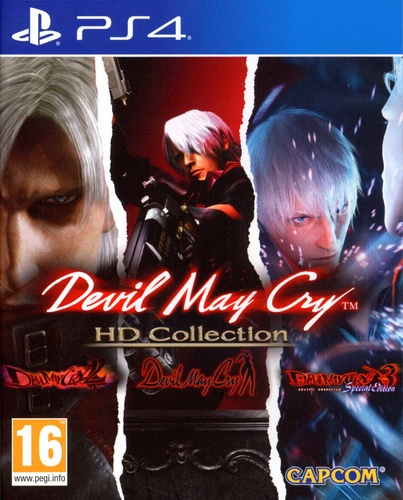 Devil May Cry - HD Collection [PS4]