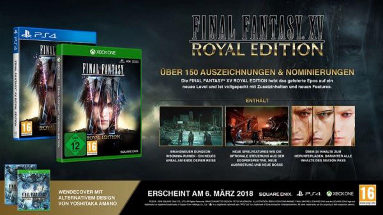 Final Fantasy XV Royal Edition [PS4] (D)