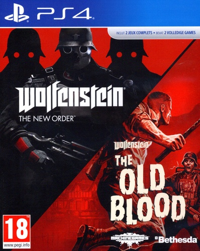 Wolfenstein Double Pack [PS4]