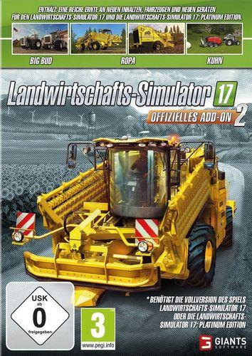 Landwirtschafts Simulator 2017 - Offizielles Add-On 2 [DVD]