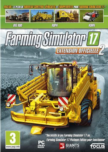 Farming Simulator 2017 - Extension Officielle 2 [DVD]