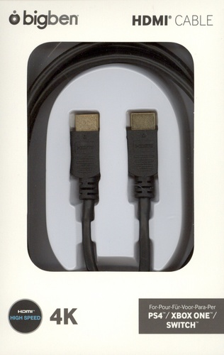 HDMI 2.0a Cable 2m - black [PS4]