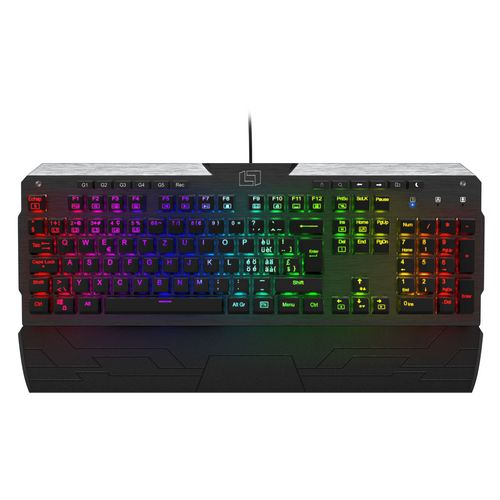 Lioncast LK300 RGB Gaming Tastatur [Swiss Layout]