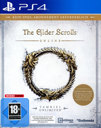 The Elder Scrolls Online - Tamriel Unlimited [PS4]