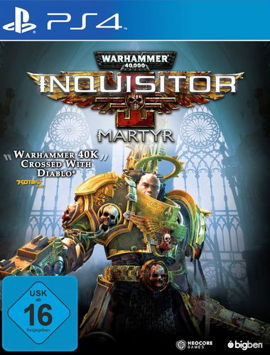Warhammer 40.000 Inquisitor Martyr [PS4]