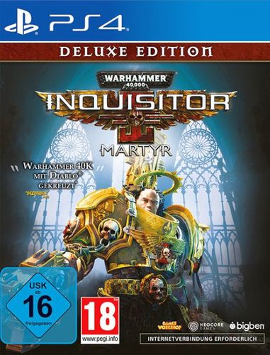 Warhammer 40.000 Inquisitor Martyr - Deluxe Edition [PS4]