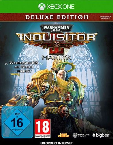 Warhammer 40.000 Inquisitor Martyr - Deluxe Edition [XONE]