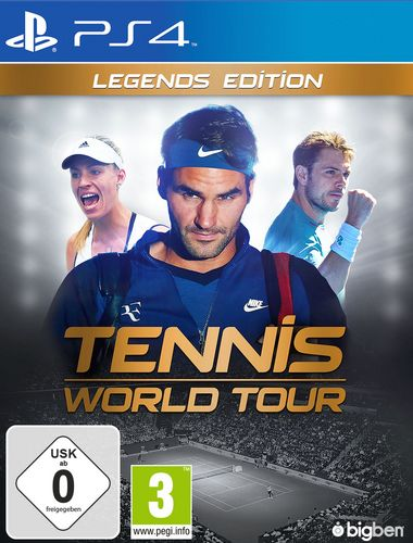Tennis World Tour - Legends Edition [PS4]