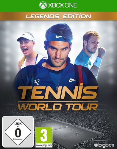 Tennis World Tour - Legends Edition [XONE]