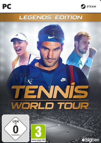 Tennis World Tour - Legends Edition [DVD]