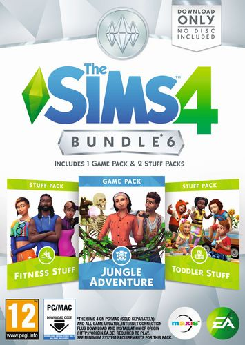 The Sims 4 - Bundle 6 [DVD]