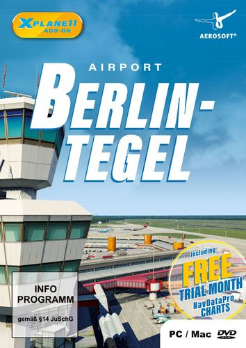 Airport Berlin-Tegel für X-Plane 11 [Add-On] [DVD]