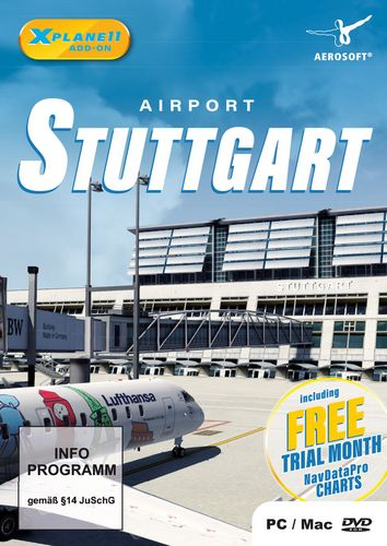 Airport Stuttgart für X-PLANE 11 [Add-On] [DVD]