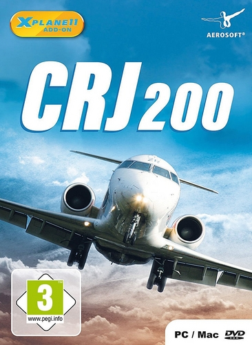 CRJ-200 für X-PLANE 11 [Add-On] [DVD]