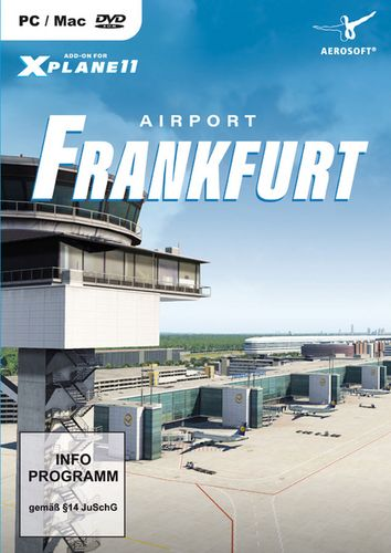 Airport Frankfurt für X-Plane 11 [Add-On] [DVD]