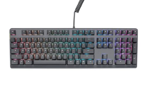 Mionix Wei Mechanical RGB Keyboard [German Layout incl. Swiss Keycaps]