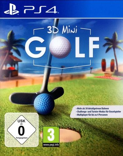 3D Mini Golf [PS4] (D