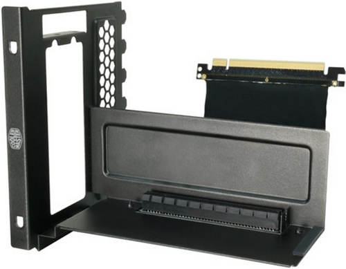 Vertical Graphic Card Holder with riser card
