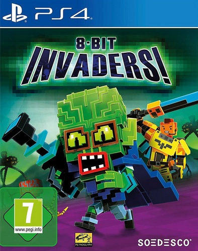 8 Bit Invaders [PS4]