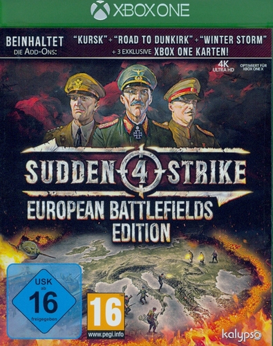 Sudden Strike 4 European Battlefields Edition [XONE]