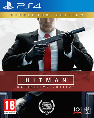Hitman - Definitive Edition Steelbook Edition [PS4]