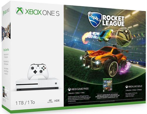 XBOX ONE S Console 1TB - Rocket League Bundle [XONE]