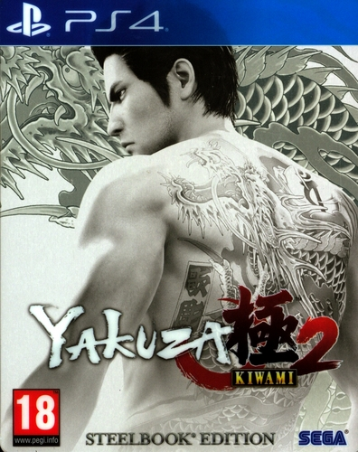 Yakuza Kiwami 2 Steelbook Edition [PS4]