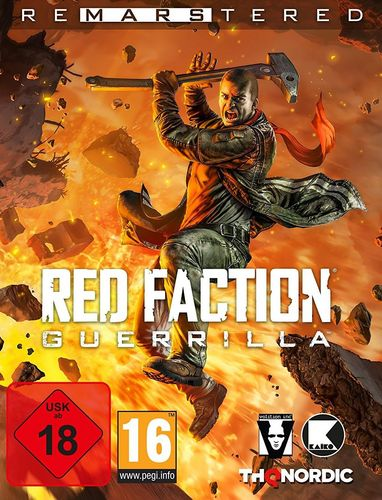 Red Faction Guerrilla Re-Mars-tered [DVD]