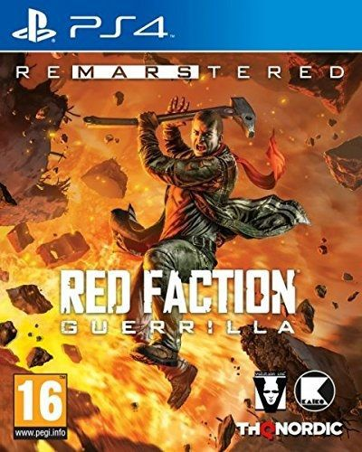Red Faction Guerrilla Re-Mars-tered [PS4]