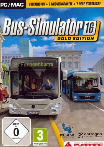 Pyramide: Bus-Simulator 16 Gold-Edition
