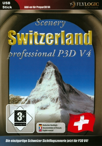Switzerland Professional für P3D V4 [Add-On] [DVD]