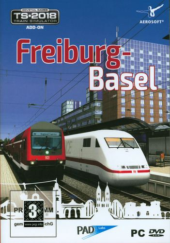 Freiburg - Basel für den TS 2018 [Add-On] [DVD]