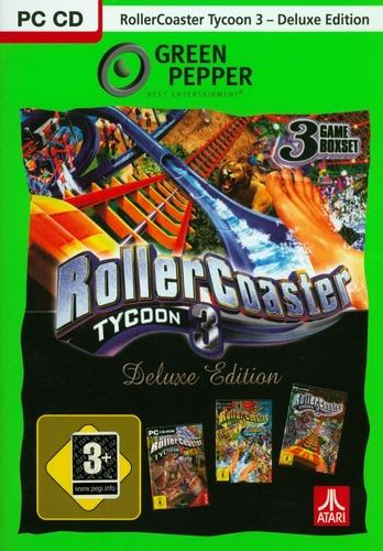 Green Pepper: Rollercoaster Tycoon 3 Deluxe