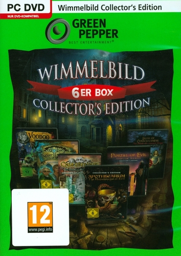 Green Pepper: Wimmelbild 6er Box Collector's Edition