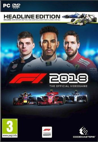 F1 2018 Headline Edition [DVD]