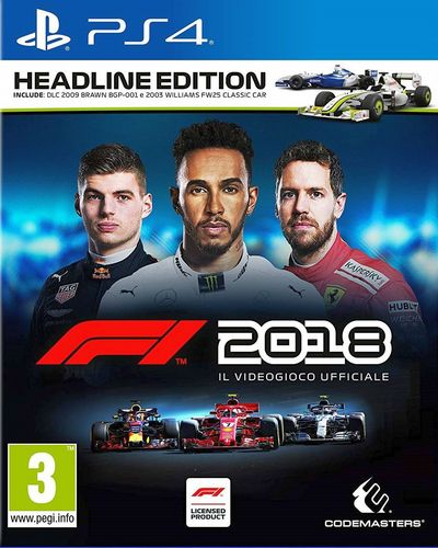 F1 2018 Headline Edition [PS4]