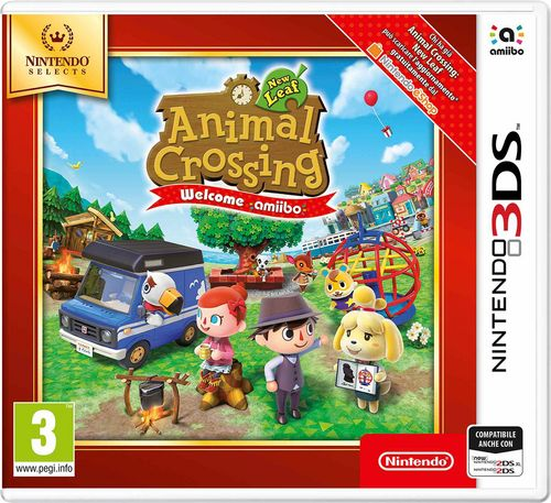 Nintendo Selects: Animal Crossing - New Leaf - Welcome amiibo