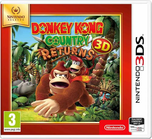 Nintendo Selects : Donkey Kong Country Returns 3DS