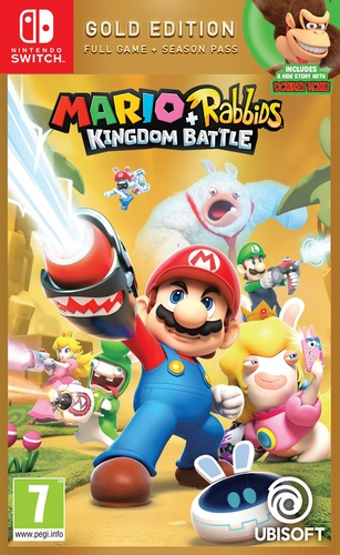 Mario & Rabbids Kingdom Battle - Gold Edition [NSW]