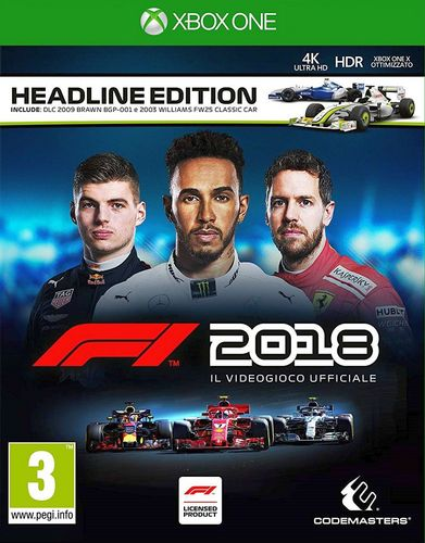 F1 2018 Headline Edition [XONE]