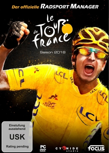 Tour de France 2018: Der offizielle Radsport Manager [DVD]