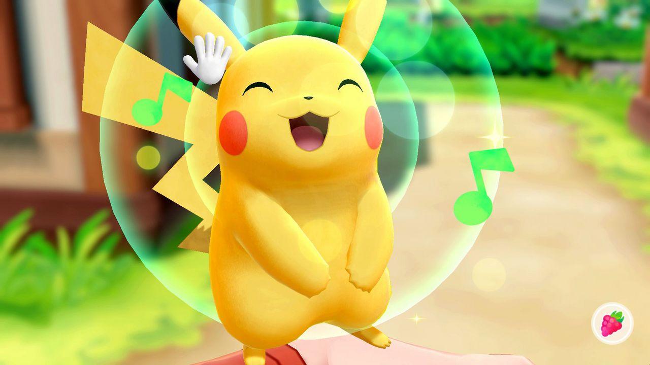 Pokémon Let's Go, Pikachu! [NSW] (D)