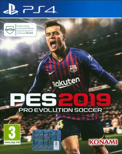 PES 2019 - Pro Evolution Soccer 2019 [PS4]