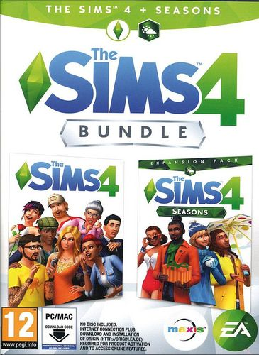 The Sims 4 - Seasons Bundle [Code in a Box]