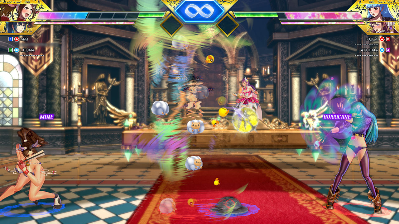 SNK Heroines - Tag Team Frenzy [NSW] (D)